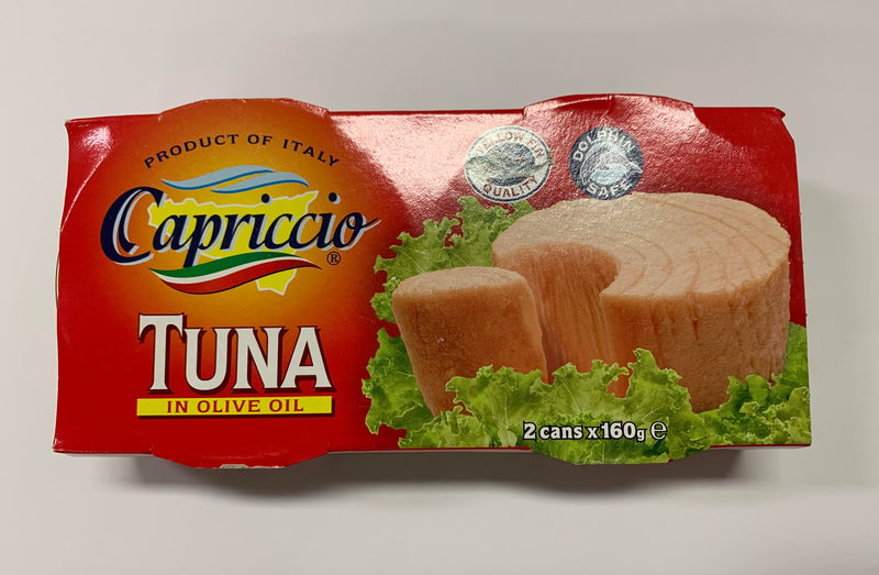 Capriccio Tuna in Olive Oil 2 Pack