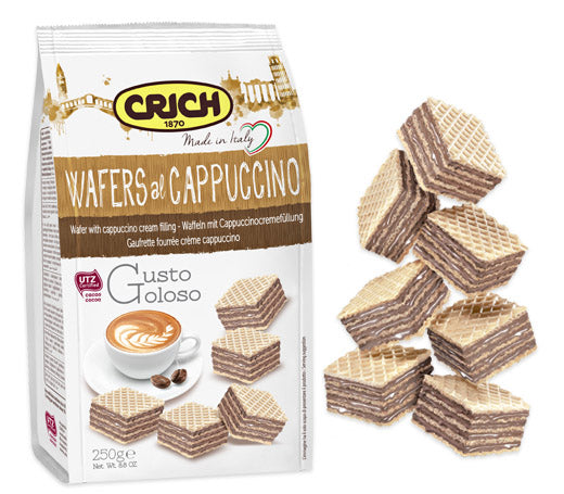 Crich Cappuccino Wafers 250g