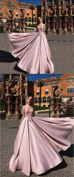 Long A line Gorgeous Formal Elegant High Quality Prom Dresses, Prom Gown, Special Occasion  dresses, PD0311