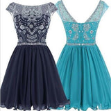 Short V-back Junior Popular Graduation Sweet 16 Dresses Cocktail Dresses,PD0001