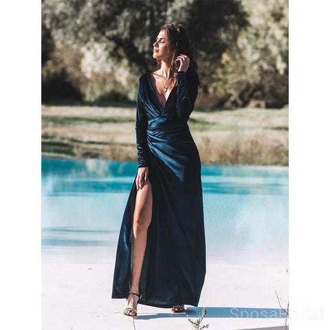 products/Deep_V_Neck_Long_Sleeves_Side_Slit_Modest_Velvet_Long_Formal_Elegant_Prom_Dresses.jpg