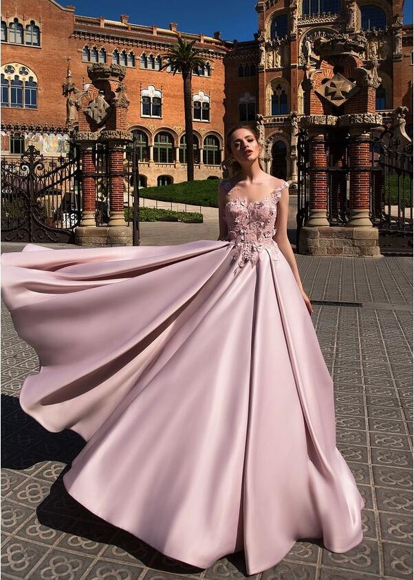 Long A line Gorgeous Formal Elegant High Quality Prom Dresses, Prom ...