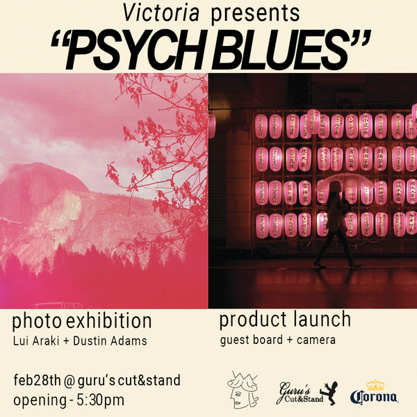 "VICTORIA ""Psych Blues"" Exhibition + Product Launch"