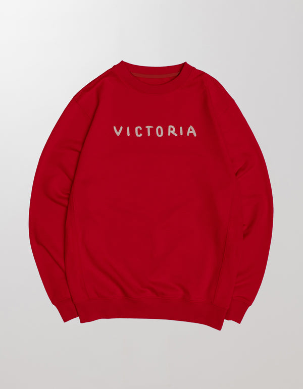 CHAIN STITCH LOGO CREWNECK