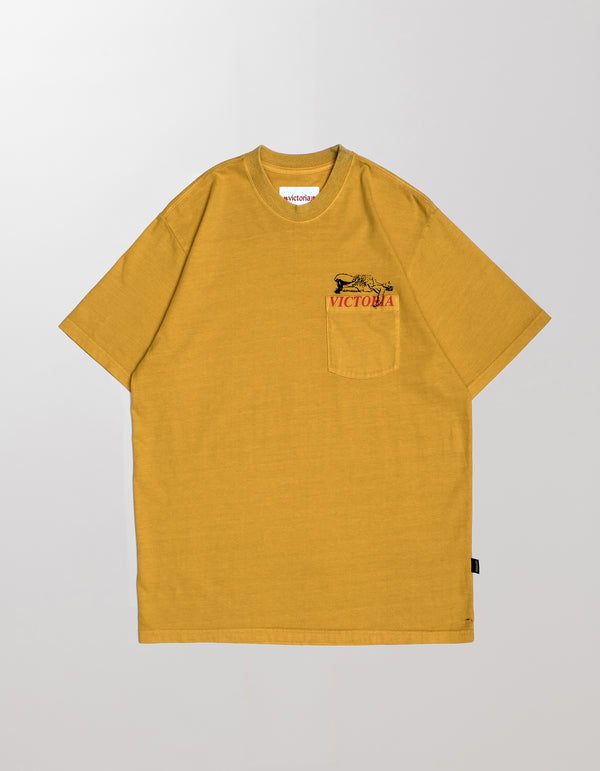 LION POCKET T-SHIRT