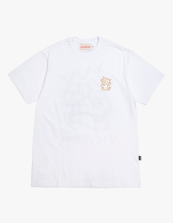 QUEENHEAD LOGO T-SHIRT