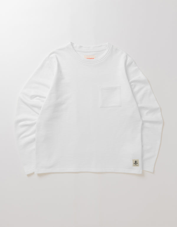 L/S BOXY WORK T SHIRT