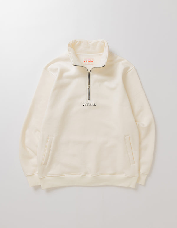 MOCK NECK PULLOVER FLEECE
