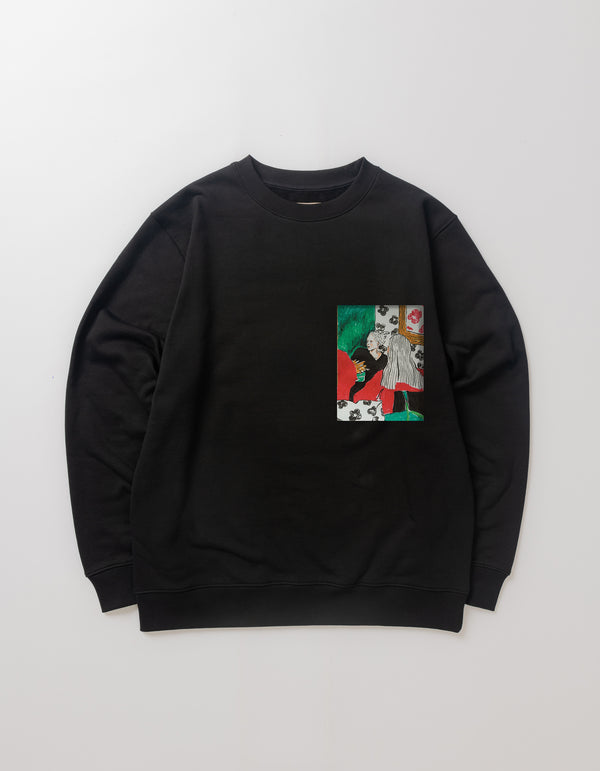 TWO LADIES CREWNECK