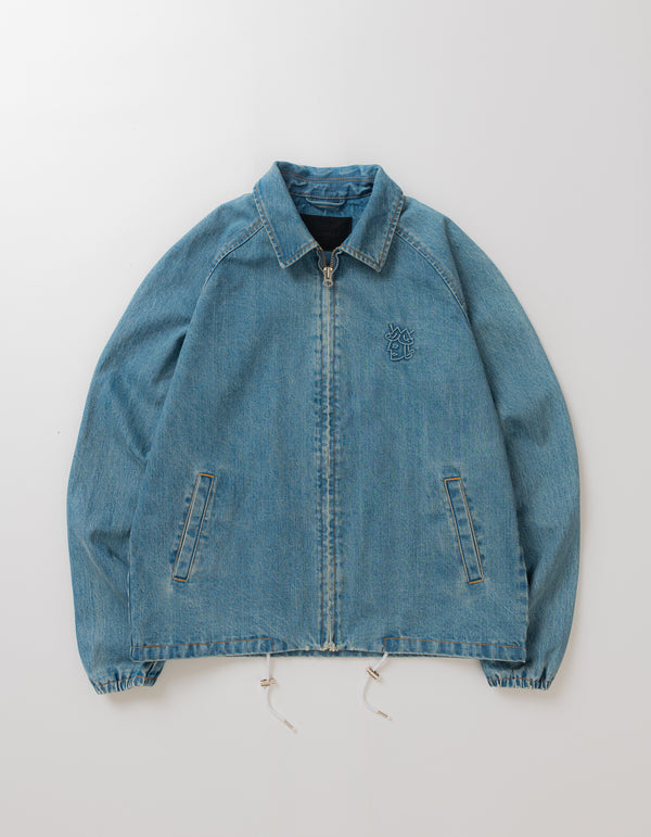 DENIM COACH'S JACKET