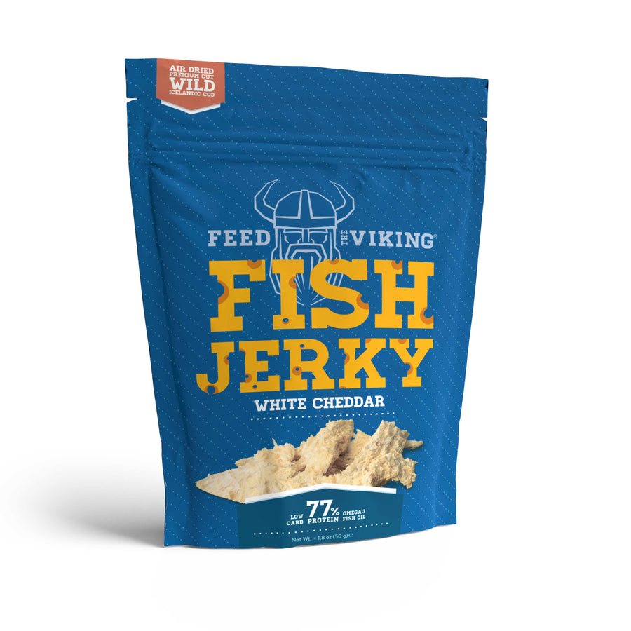 Fish Jerky - White Cheddar