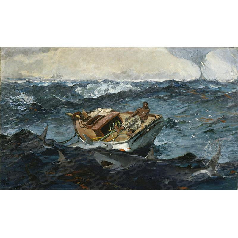 The Gulf Stream Winslow Homer Painting Soul For Style