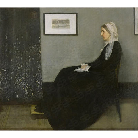 Whistler's Mother Painting Soul For Style
