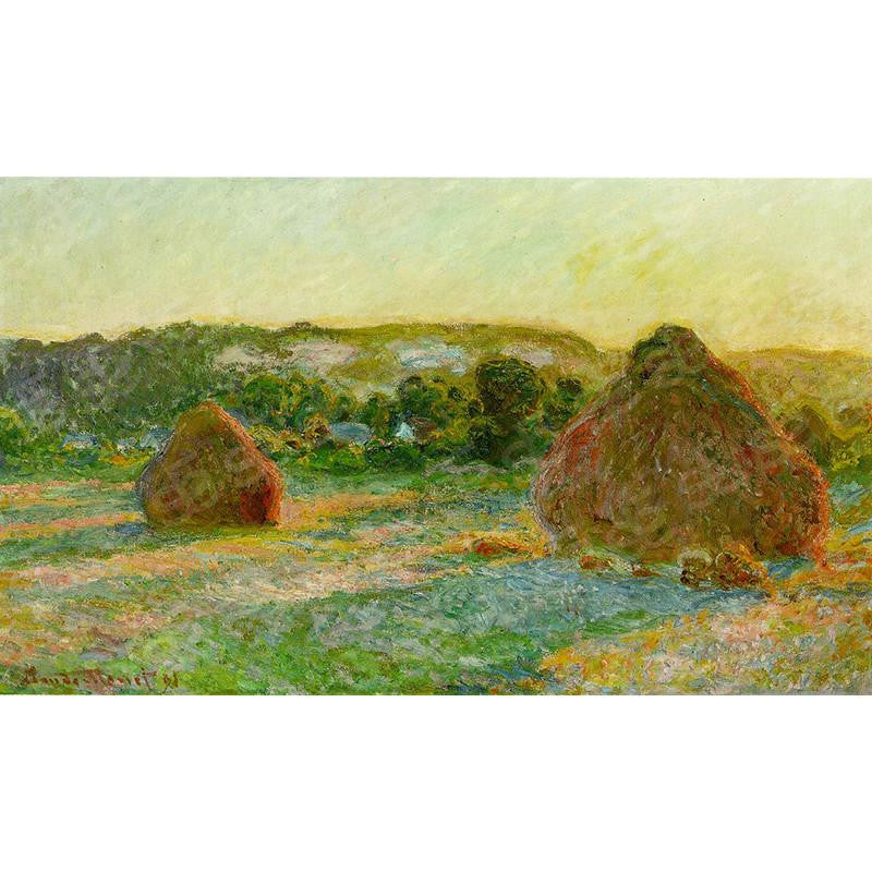 Wheatstacks End of Summer Claude Monet Painting Soul For Style