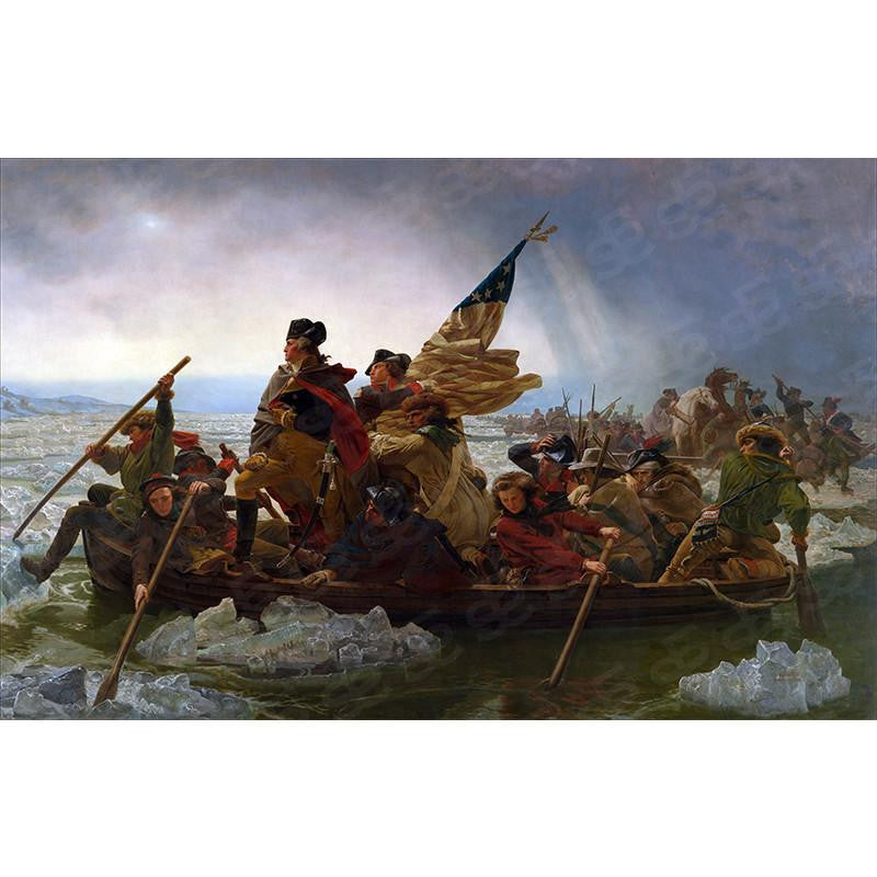 Washington Crossing the Delaware Emanuel Gottlieb Leutze Painting Soul For Style