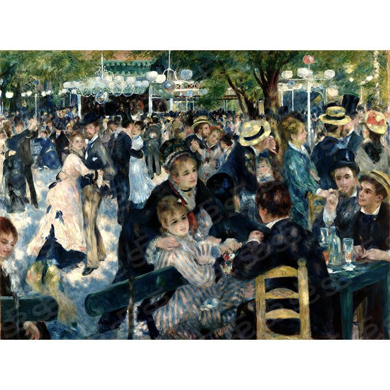 Dance at Le moulin de la Galette Pierre-Auguste Renoir Painting Soul For Style