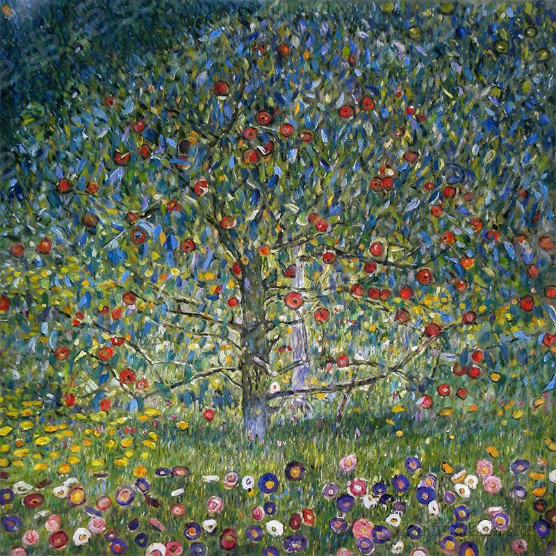 Apple Tree, I Gustav Klimt Painting Soul For Style