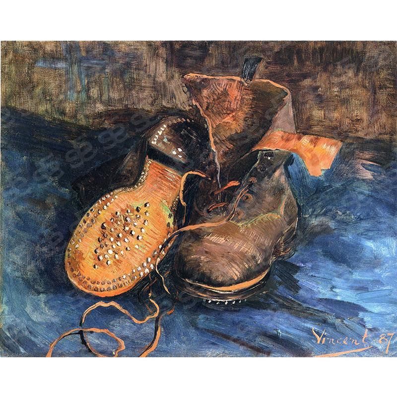 A Pair Of Shoes Vincent Van Gogh Painting Soul For Style