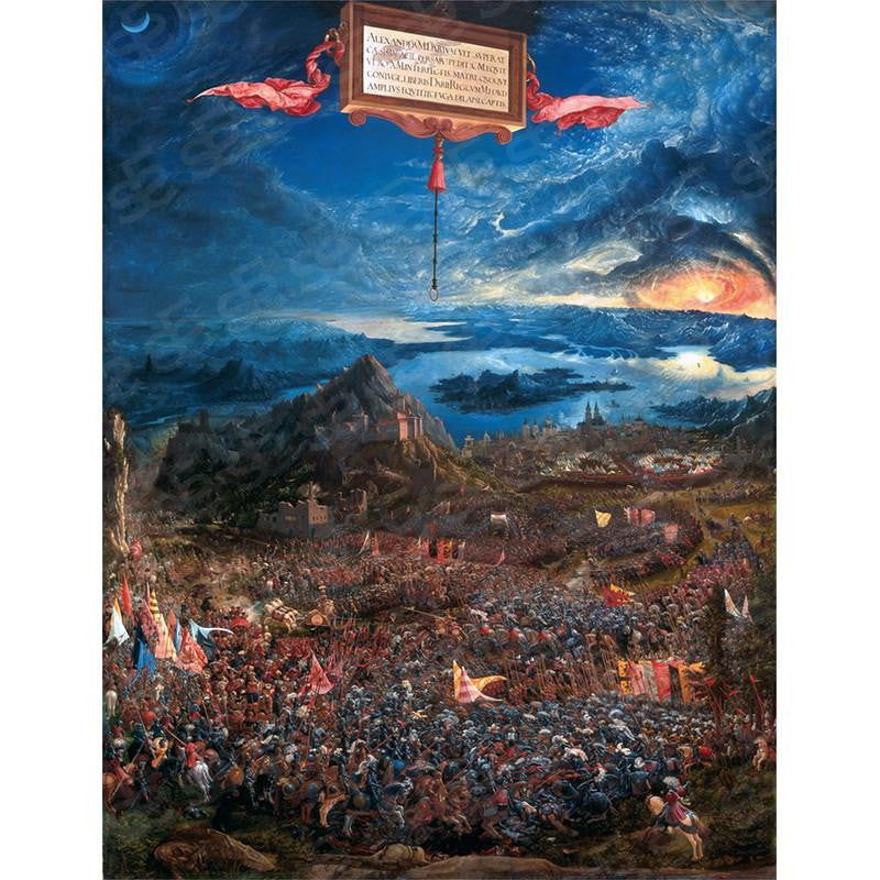 The Battle of Alexander at Issus Albrecht Altdorfer Painting Soul For Style