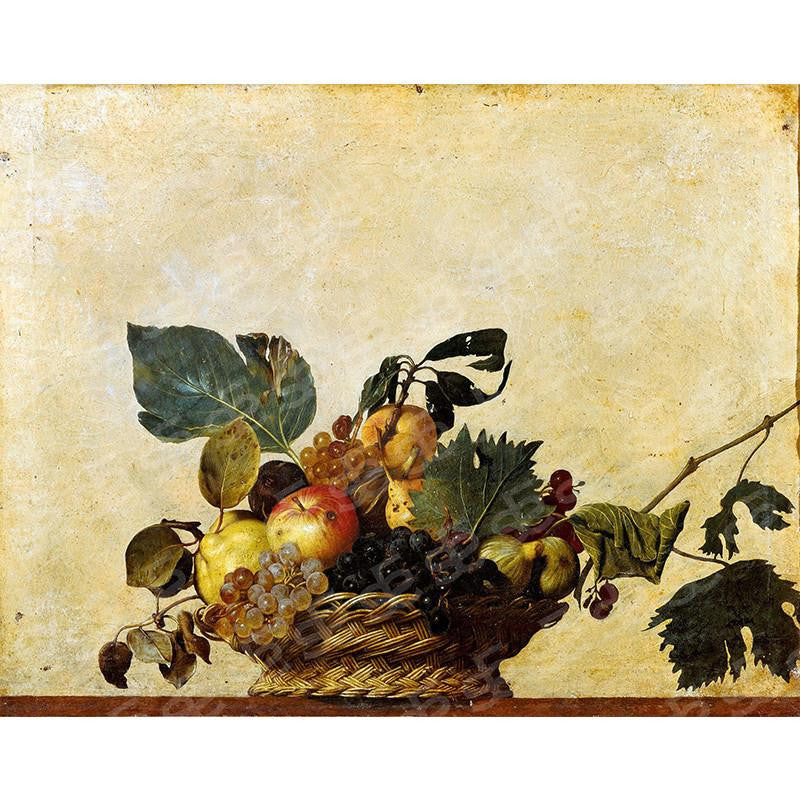Basket of Fruit Caravaggio Painting Soul For Style