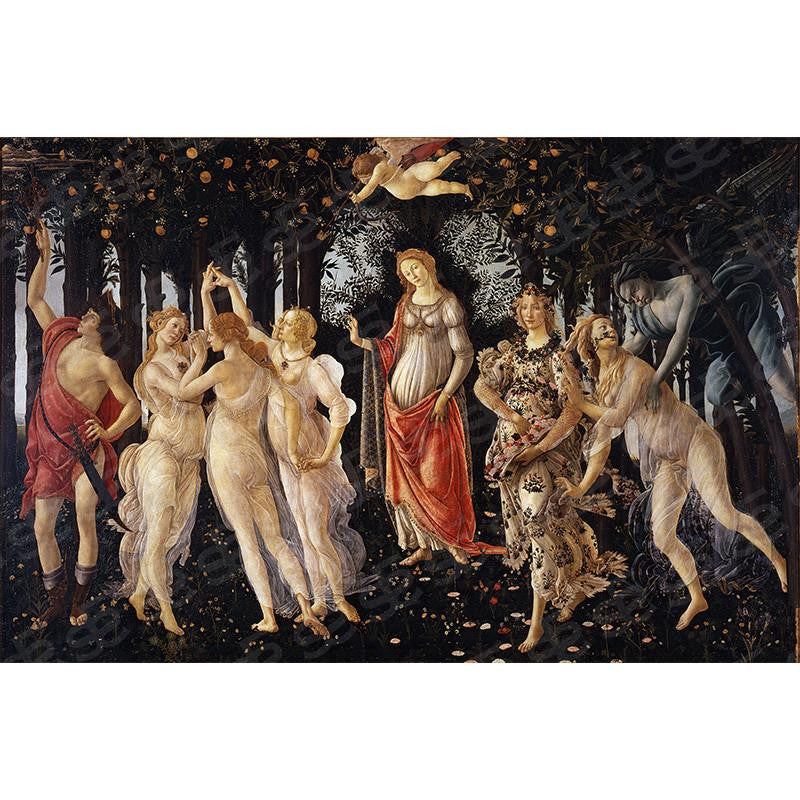 Primavera Sandro Botticelli Painting Soul For Style