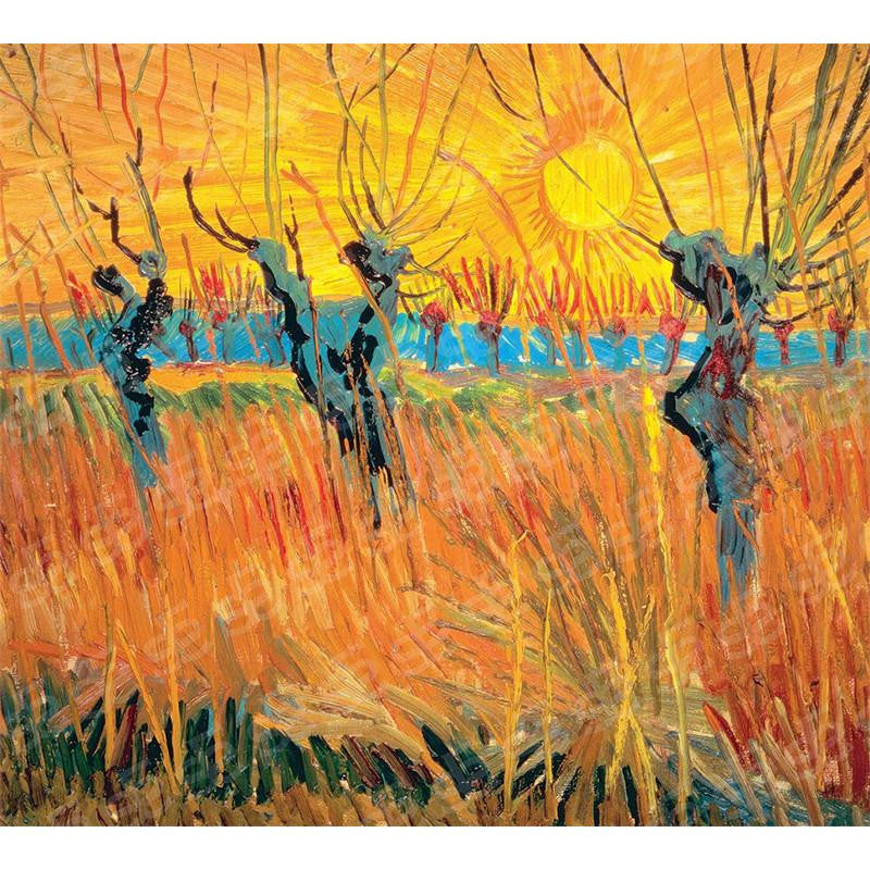 Willows at Sunset Vincent Van Gogh Painting Soul For Style