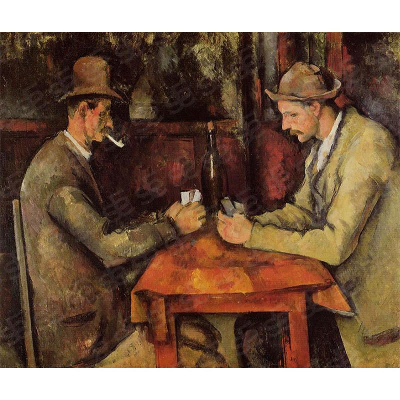 The Card Players Paul Cézanne Painting Soul For Style
