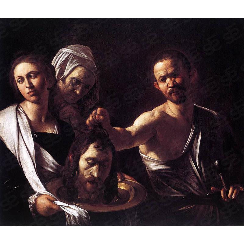 Salome with the Head of John the Baptist Caravaggio Painting Soul For Style
