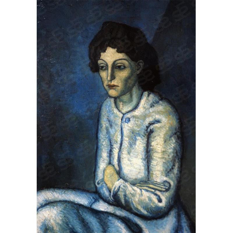 Femme aux Bras Croisés Woman with Folded Arms Pablo Picasso Painting Soul For Style