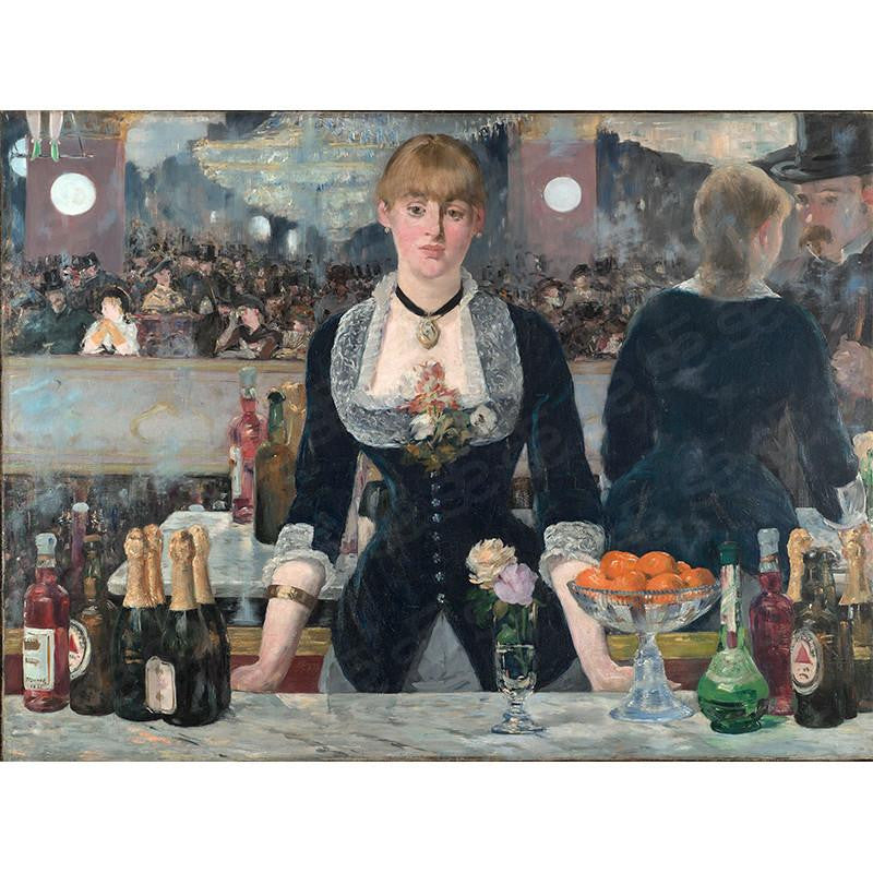 A Bar at the Folies-Bergère Édouard Manet  Painting Soul For Style