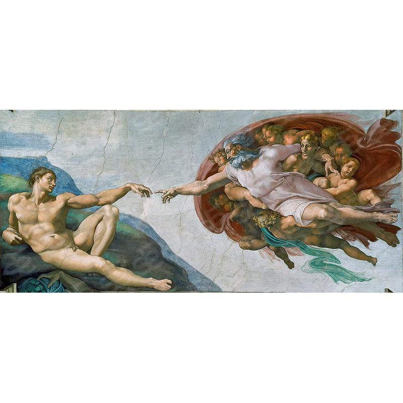 The Creation of Adam Michelangelo Painting Soul For Style