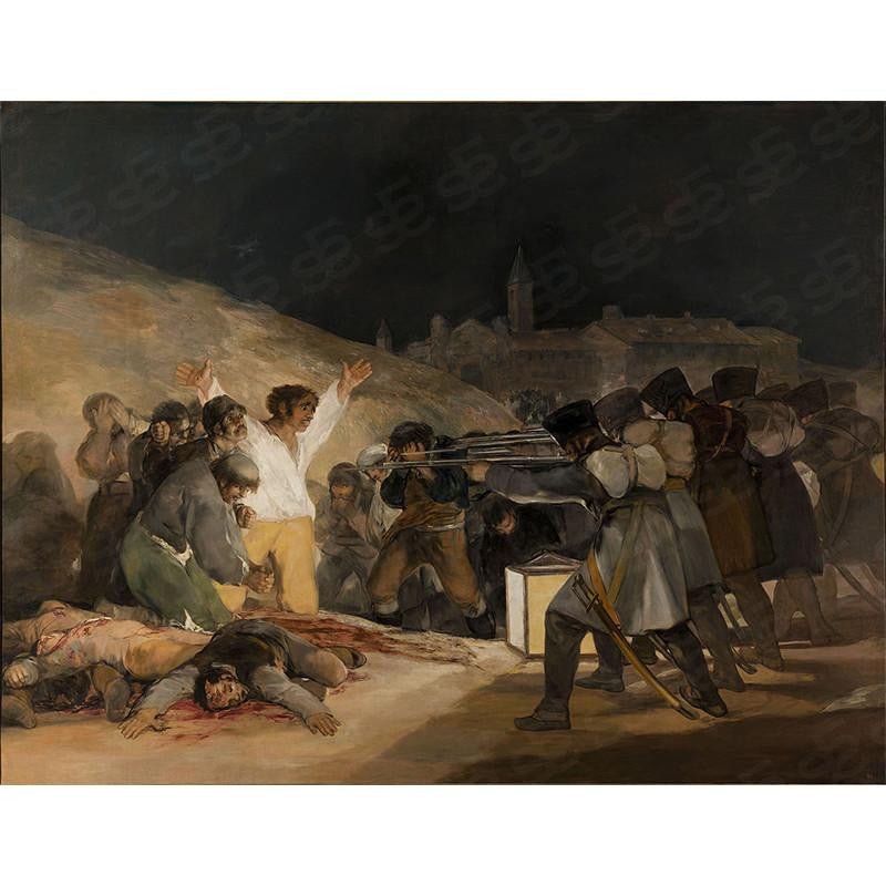 The Third of May 1808 Francisco Goya Painting Soul For Style