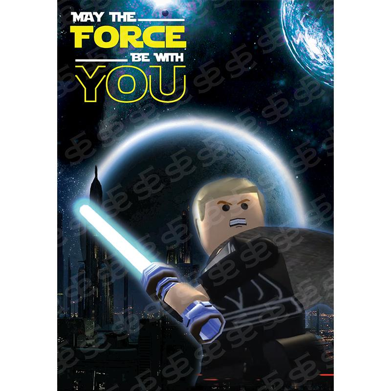 Lego Star Wars May The Force Be With You Soul For Style