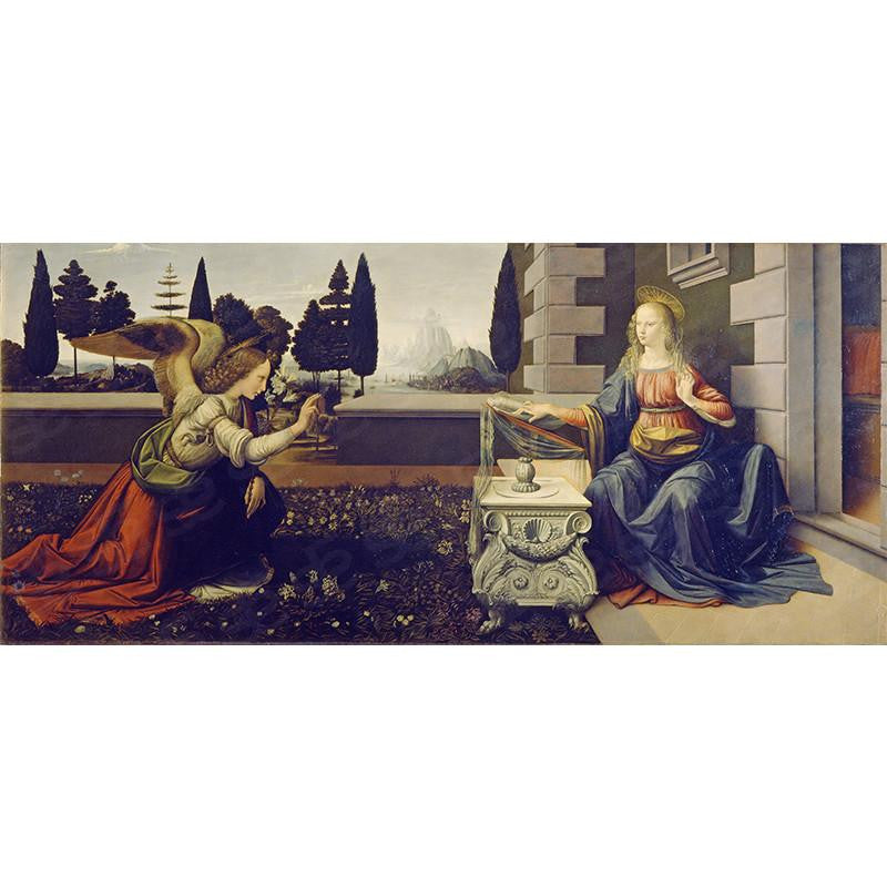 Annunciation Leonardo da Vinci Painting Soul For Style