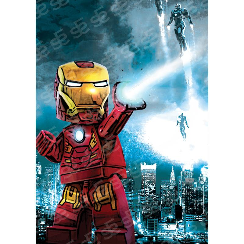 Lego Iron Man Avengers Soul For Style
