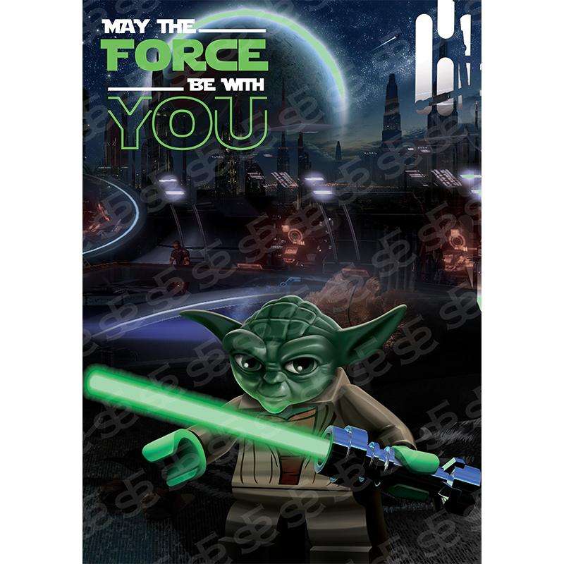 Lego Yoda Star Wars May The Force Be with You Soul For Style