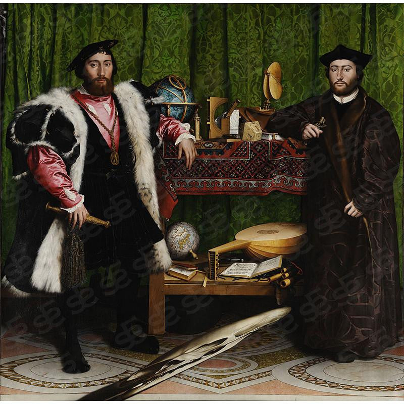 The Ambassadors Hans Holbein the Younger Painting Soul For Style