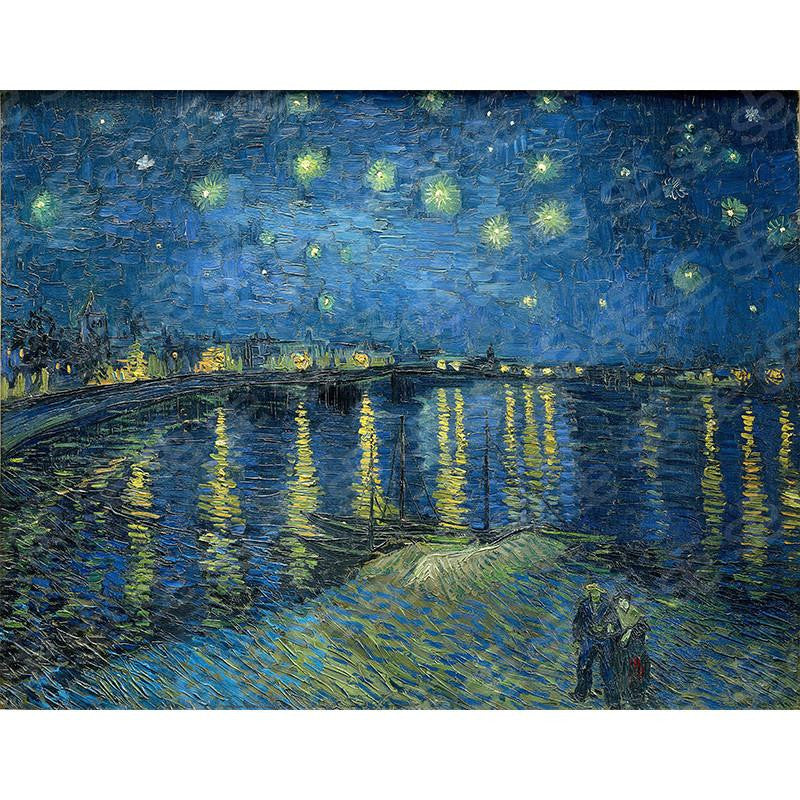 Starry Night Over the Rhône Vincent Van Gogh Painting Soul For Style