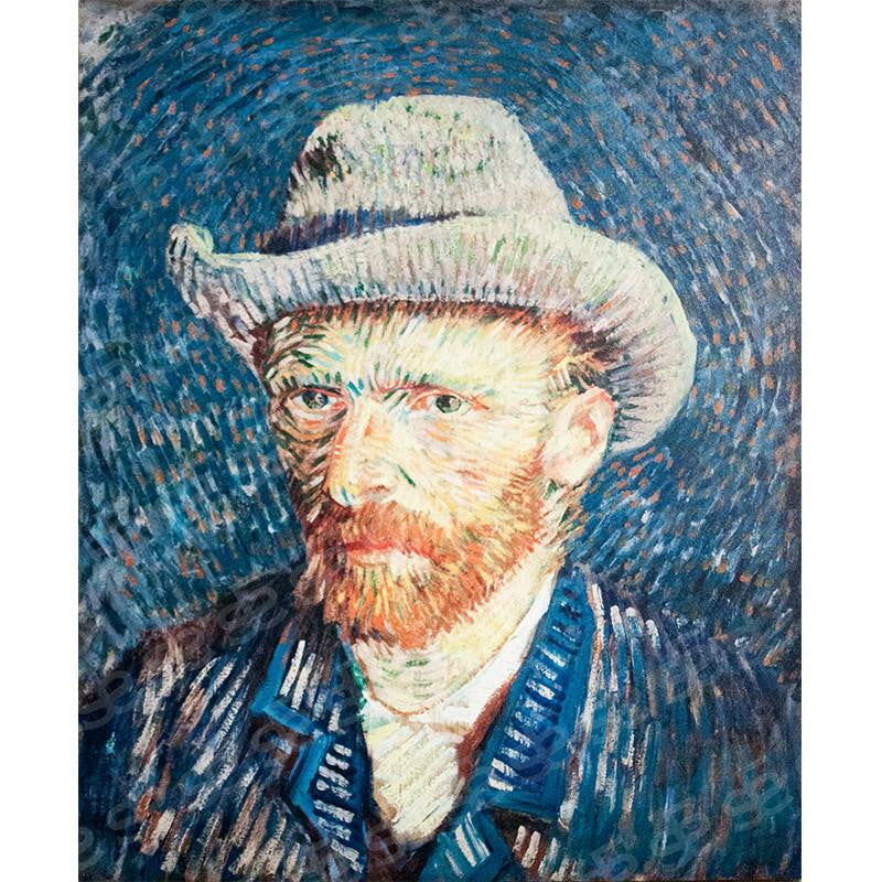 Self Portrait Vincent van Gogh Painting Soul For Style