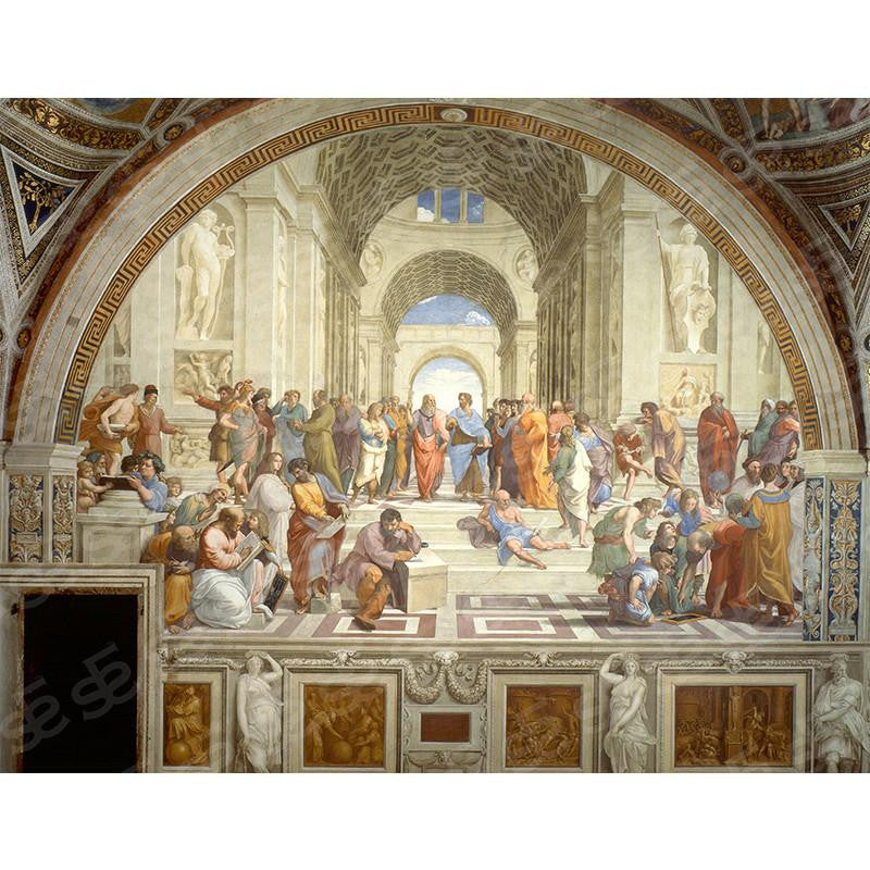 School of Athens Raphael Painting Soul For Style