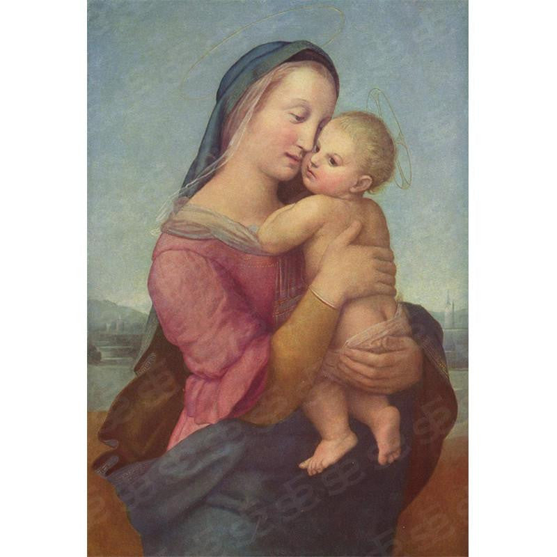 Tempi Madonna Raphael Painting Soul For Style