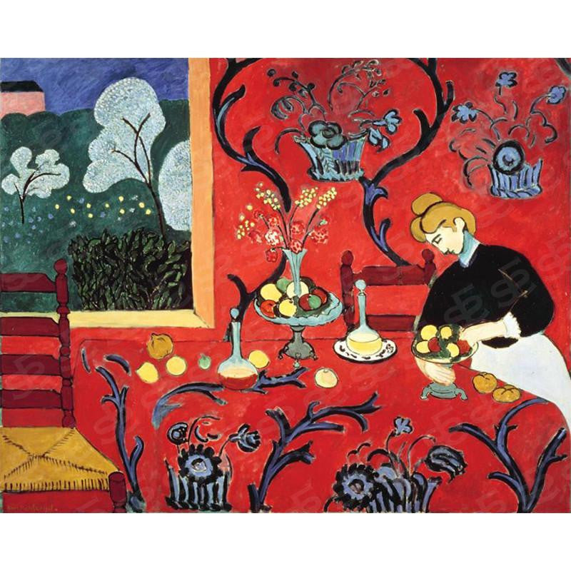 The Red Room Henri Matisse Painting Soul For Style