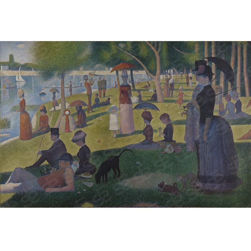 A Sunday Afternoon on the Island of La Grande Jatte Georges Seurat Painting Soul For Style