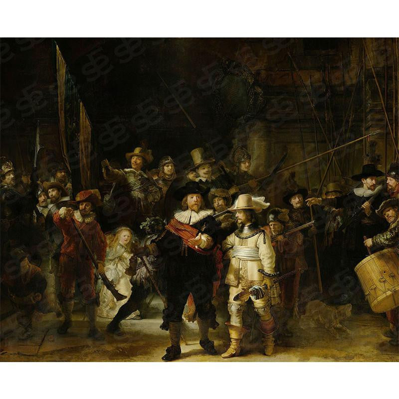 The Night Watch Rembrandt Painting Soul For Style