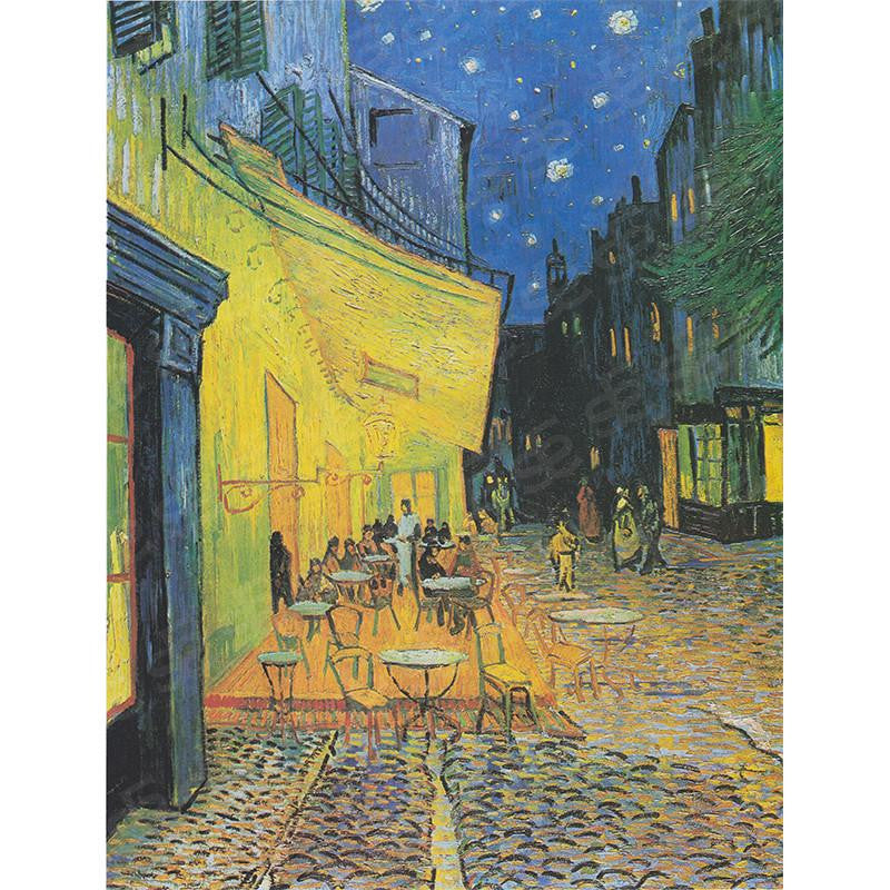 Café Terrace at Night Vincent Van Gogh Painting Soul For Style