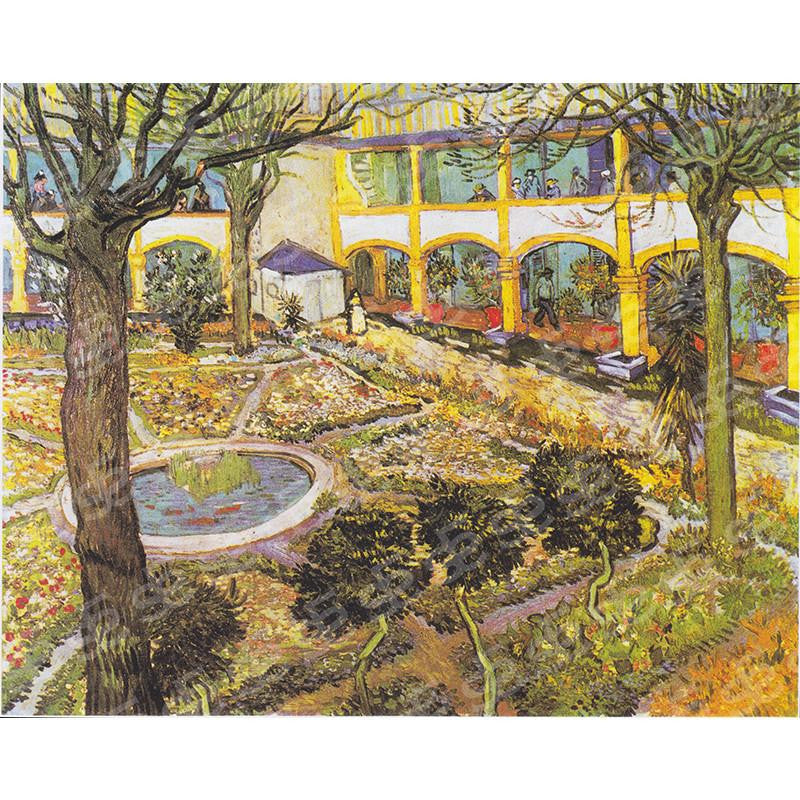 Hospital in Arles Vincent Van Gogh Painting Soul For Style