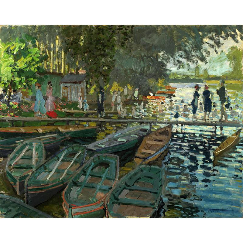 Bathers at La Grenouillere Claude Monet Painting Soul For Style