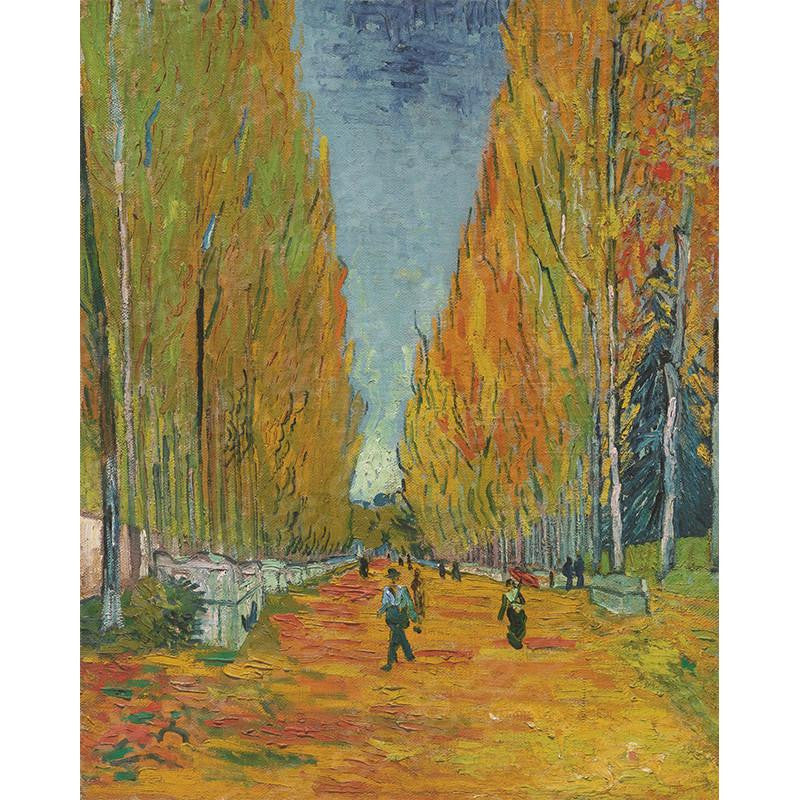 Les Alyscamps Vincent Van Gogh Painting Soul For Style