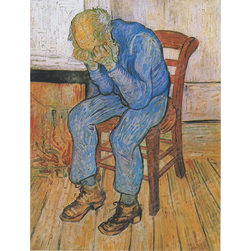 Sorrowing Old Man Vincent Van Gogh Painting Soul For Style