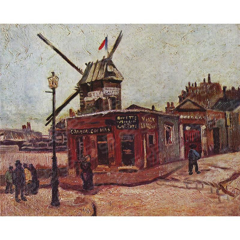 Le Moulin de la Galette Vincent Van Gogh Painting Soul For Style